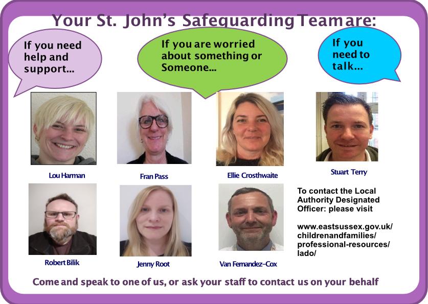 Safeguarding poster School September 2021